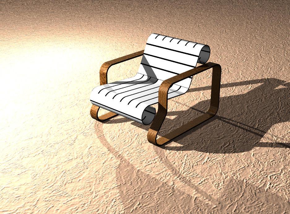 Poltrona Juliane Render Rhino 3D by JuTokura on DeviantArt