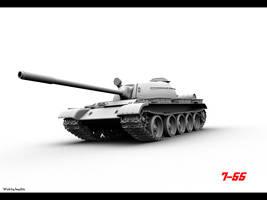 T-55 - WIP 2009 by FWSeydlitz
