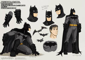 Battle Rehime | Batman by sphelon8565