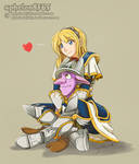 Lux and Timbersaw   Interaction Hug and Affection by sphelon8565