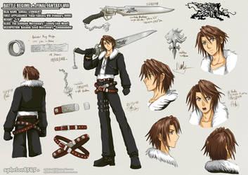 Battle Rehime | Squall Leonhart by sphelon8565