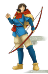 Ashitaka | Princess Mononoke by sphelon8565