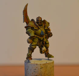nurgle chaos champion by s813noma1