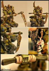 Nurgle chaos lord (detail) by s813noma1