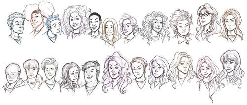 WIP Orange is the New Black Cast by mOOg267