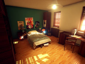 Bedroom Lighting Study by mOOg267