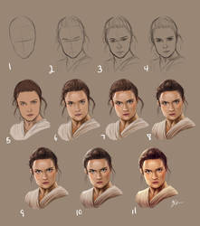 Rey Tutorial by mOOg267