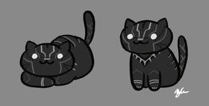 Black Panther Atsume by mOOg267