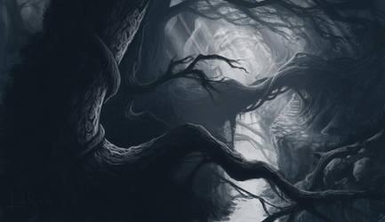 Lost in Mirkwood. by Caoranach