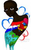 Love For Haiti by Kieshalee