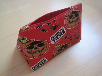 Pumpkin Necessaire by Sompy-Stuff