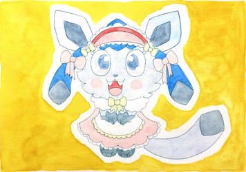 Glaceon Maid by hinawashi