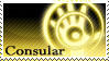 SWTOR: Jedi Consular Stamp by theladyems