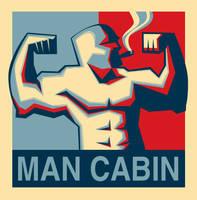 Man Cabin Logo by capwak