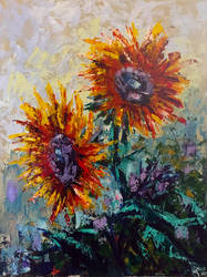 Day206 Sunflowers by capwak