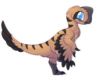 Another Oviraptor! by FlailingFishy