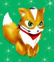 Chibi Fox McCloud by WinterIceFox