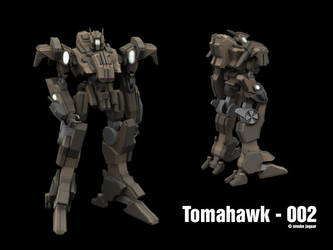 Tomahawk - 002 by smokejaguar
