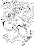 Skifi's 3rd Commission by Petite-Emi