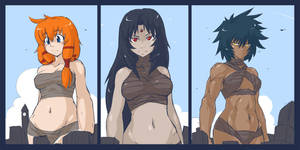 Giantesses by Petite-Emi