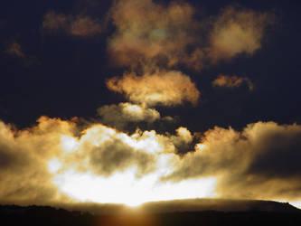 sunset by brujo