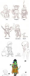 Character Dump - June 2011 by Meaninglessmage
