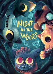Night in the Woods by Agui-chan