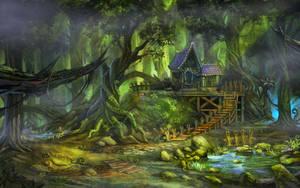 Dark forest by Zudartslee