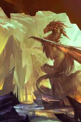 Dragon by Zudartslee