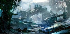 Frozen Wilderness by Zudartslee