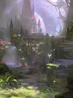 Fairy Forest by Zudartslee