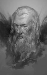 Gandalf copy study by Zudartslee