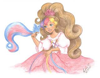 Enchanted Lady Lovely Locks by landesfes
