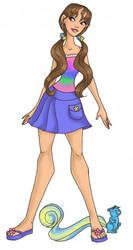 Teen Maiden Fair Hair by landesfes