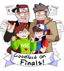 Good luck finals! by Operation-NovaCross