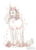 The Adolescent Royal Unicorn by HeatherHitchman