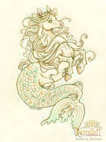 Mermay 2017 #9 The Hippocamp by HeatherHitchman