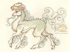 Smaugust 2017 #11 The Kirin of Terratoff by HeatherHitchman