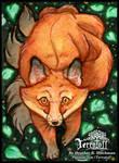 Kitsune Collection #17 Sneaky Fellow by HeatherHitchman
