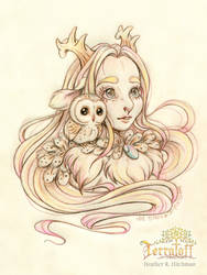 MarchOfTheFauns #4 Princess Wynne by HeatherHitchman