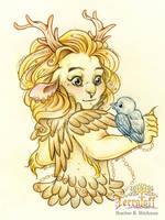 MarchOfTheFauns #5 Princess Jacandy by HeatherHitchman