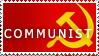 Stamp COMMUNIST by Sinceritta