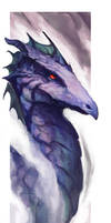 Violet Dragon by cmalidore