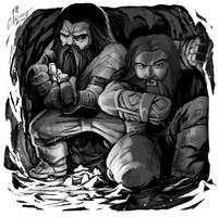 Dwarveses by cmalidore