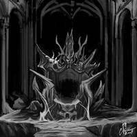 Black Rock Throne by cmalidore