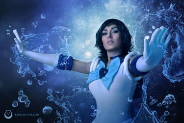 Sailor Mercury by Karelys-Luna