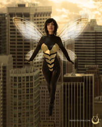 The WASP by Karelys-Luna