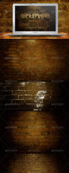 10 Grunge Brick Backgrounds by gojol23