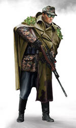 gebirgsdivision sniper by anderpeich