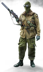 Special Operations Paratrooper by anderpeich
